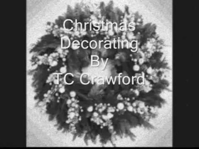 Christmas Decorating Slide Show