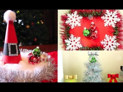 Christmas DIY Room Decorations! | Casey Holmes