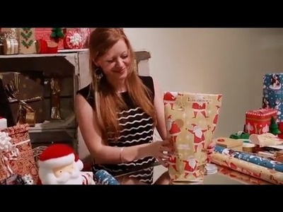 Craft Corner: How to wrap an awkward shaped present