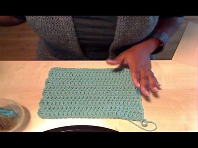 Crochet How to Keep Your Scarf Straight
