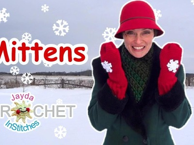 Crochet Mittens! - Jayda's Magic Pattern Mitten Tutorial