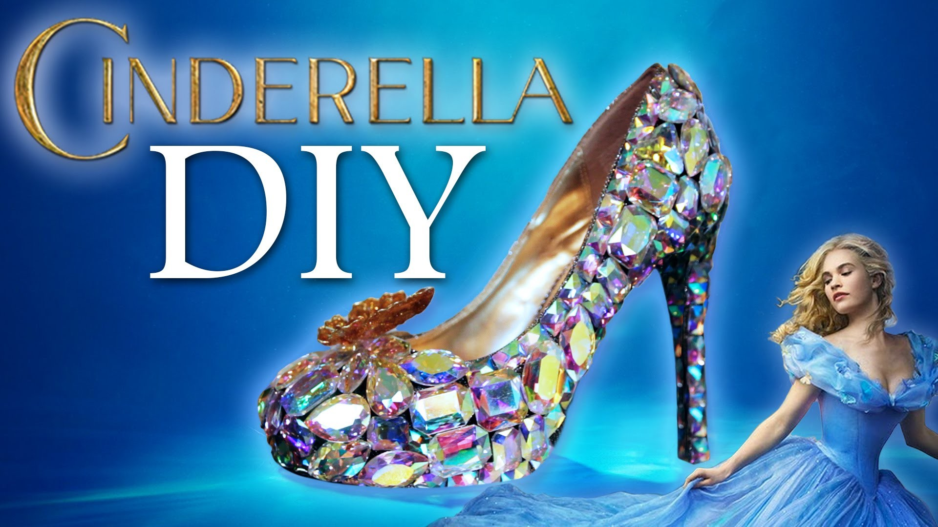 DIY Cinderella Glass Slipper