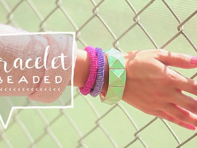 DIY Colorful Beaded Friendship Bracelets (Super Easy)
