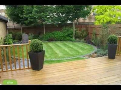 DIY decorating Ideas for Small garden design
