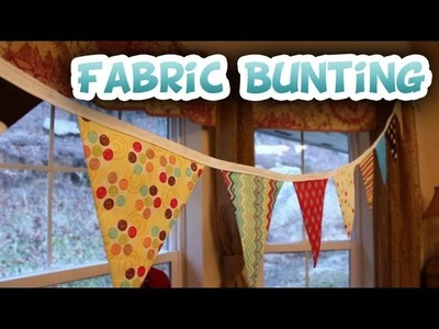 DIY Fabric Bunting {Free Pattern} - Whitney Sews