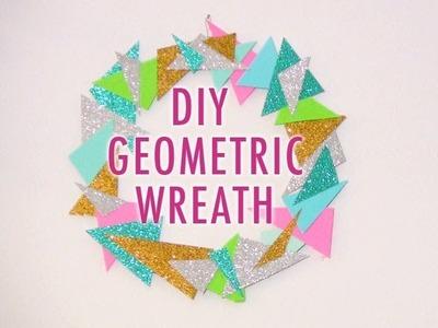 DIY Geometric Wreath
