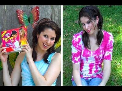 DIY: Groovy Glam Tie Dye!
