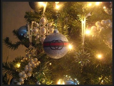 DIY: Gucci Christmas Tree Ornament! Have a Very Gucci Christmas!