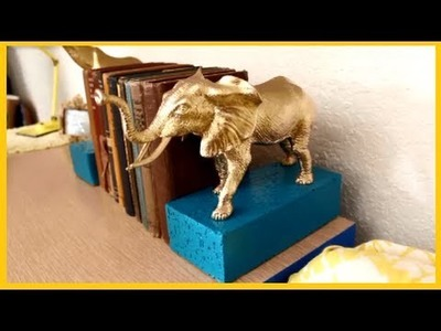 DIY: How to make Book Ends. Stopers Awesome Project
