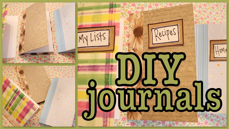 DIY: Journals
