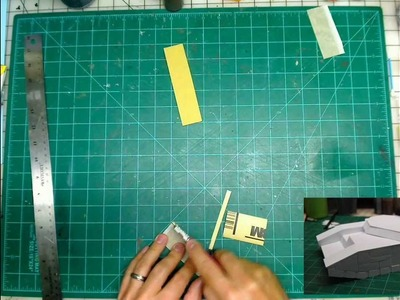 DIY sanding blocks - styrene modeling tools for scratch built