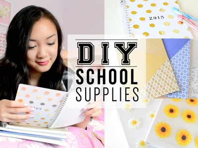 DIY School Supplies! Back to School 2014