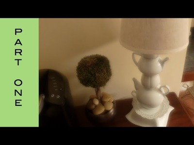 DIY-Teacup Lamp Tutorial Part I