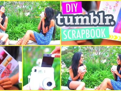 DIY Tumblr Scrapbook for Travel.Memories