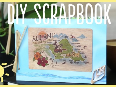 DIY | Vacation Scrapbook (Cute & Easy!!)
