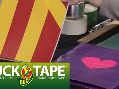 Duck Tape Craft Ideas: How to Make a School Folder