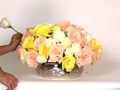 How to Arrange Flowers: DIY Wedding Flowers, Oasis Flower Arrangements | GlobalRose