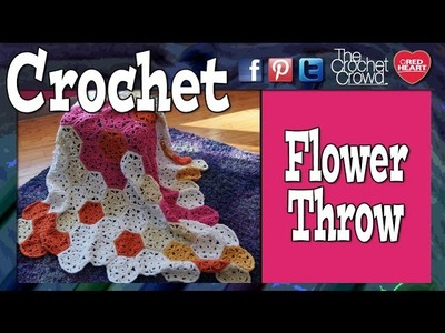 How To Crochet A Flower Throw