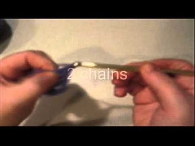 How to crochet pentagon shape