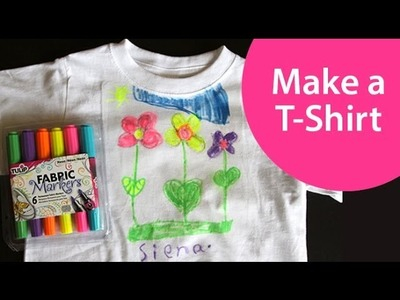 How to Design a T-Shirt - Craft Show for Kids