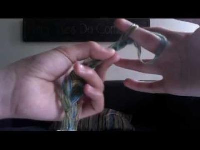 How to finger crochet!