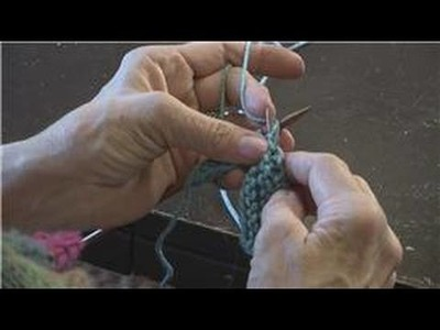 How to Knit : Continental Method