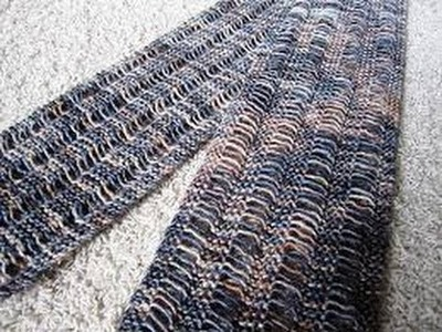 How To Knit Drop Stitch