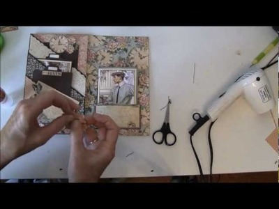 How to make a journal year book tutorial with A Ladies Diary part 9