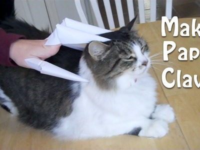 Paper Claws. Finger knives (Cats love these!)