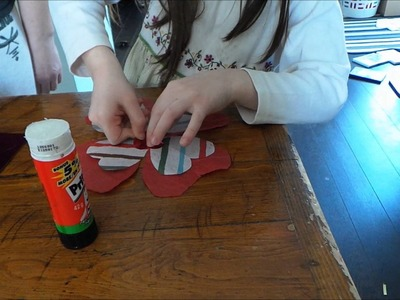 Tissue Paper Flowers - Play-Doh Mini Pots Craft