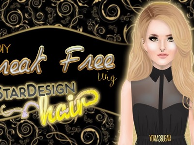 Tutorial: Break Free - Stardesign Hair - Stardoll | DIY | DW
