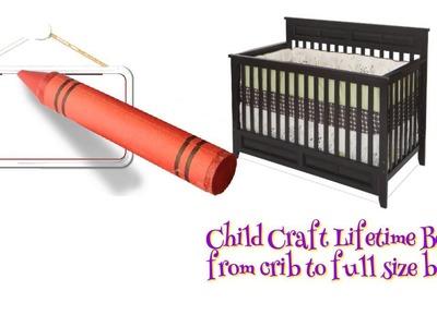 Child Craft Crib Conversion Kit
