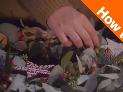 Craft Corner: How to Make a Christmas Wreath