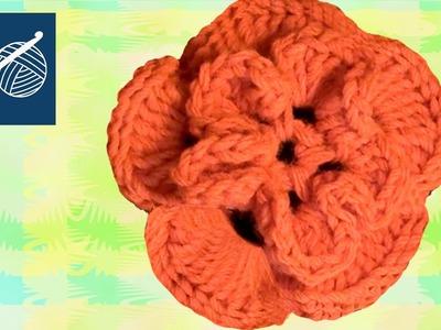 CROCHET FLOWER - Left Hand Crochet Geek