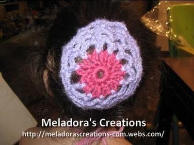 Crocheted Bun Cover - Crochet Tutorial