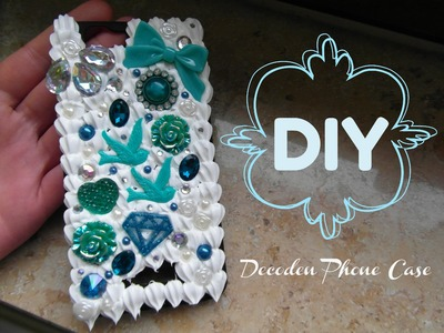 DIY. Decoden Phone Case. Tutorial