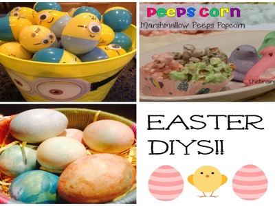 DIY Easter Desserts! + DIY Egg decorating!