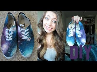 DIY: Galaxy Shoes!