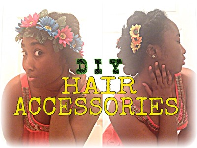 DIY Hair Accessories (pt1)