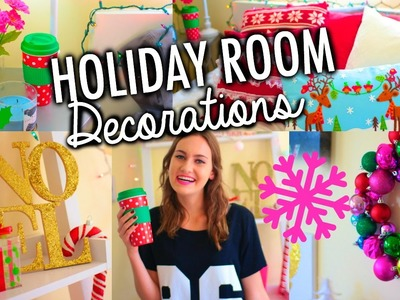DIY Holiday Room Decorations + Easy Ways to Decorate for Christmas!