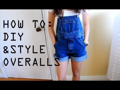 DIY+How I Style Overalls.Dungarees | petitejuls