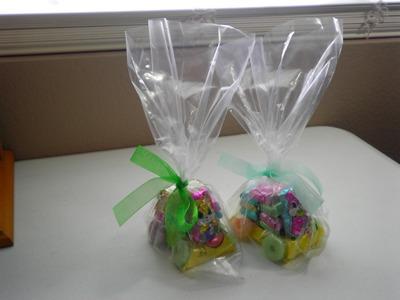 DIY. Make An Adorable & Inexpensive  Easter Bunny Candy Car!