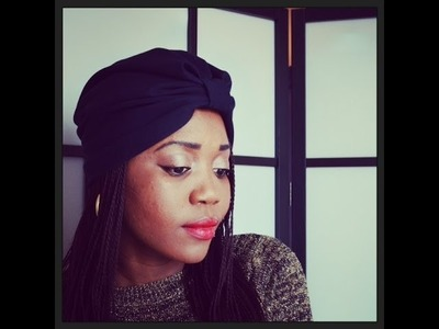 DIY Turban Hat(SEWING)