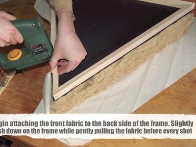 Do-it-yourself 'green' triangular corner bass-traps