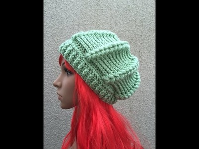 How to Crochet a Beret Beanie Hat Pattern #13 │ by ThePatterfamily