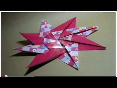 How to fold: Modular 8 Star Unit by Dassa Severova