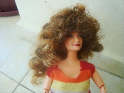 How to Make a Curly Wig for Dolls