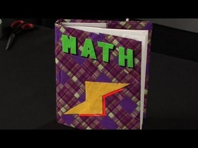 How to Make a Duct Tape Book Cover
