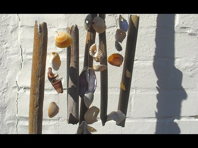 How to make a seashell windchime