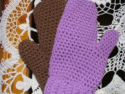 How to make Crochet Mittens Crochet Geek